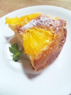 ORANGEケーキ