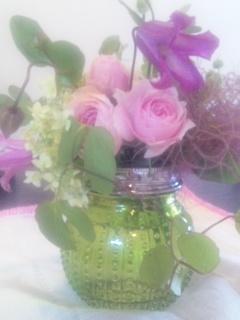 お花コラボサンプル