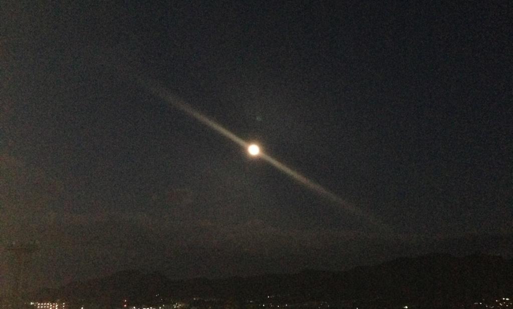 月がでたでた