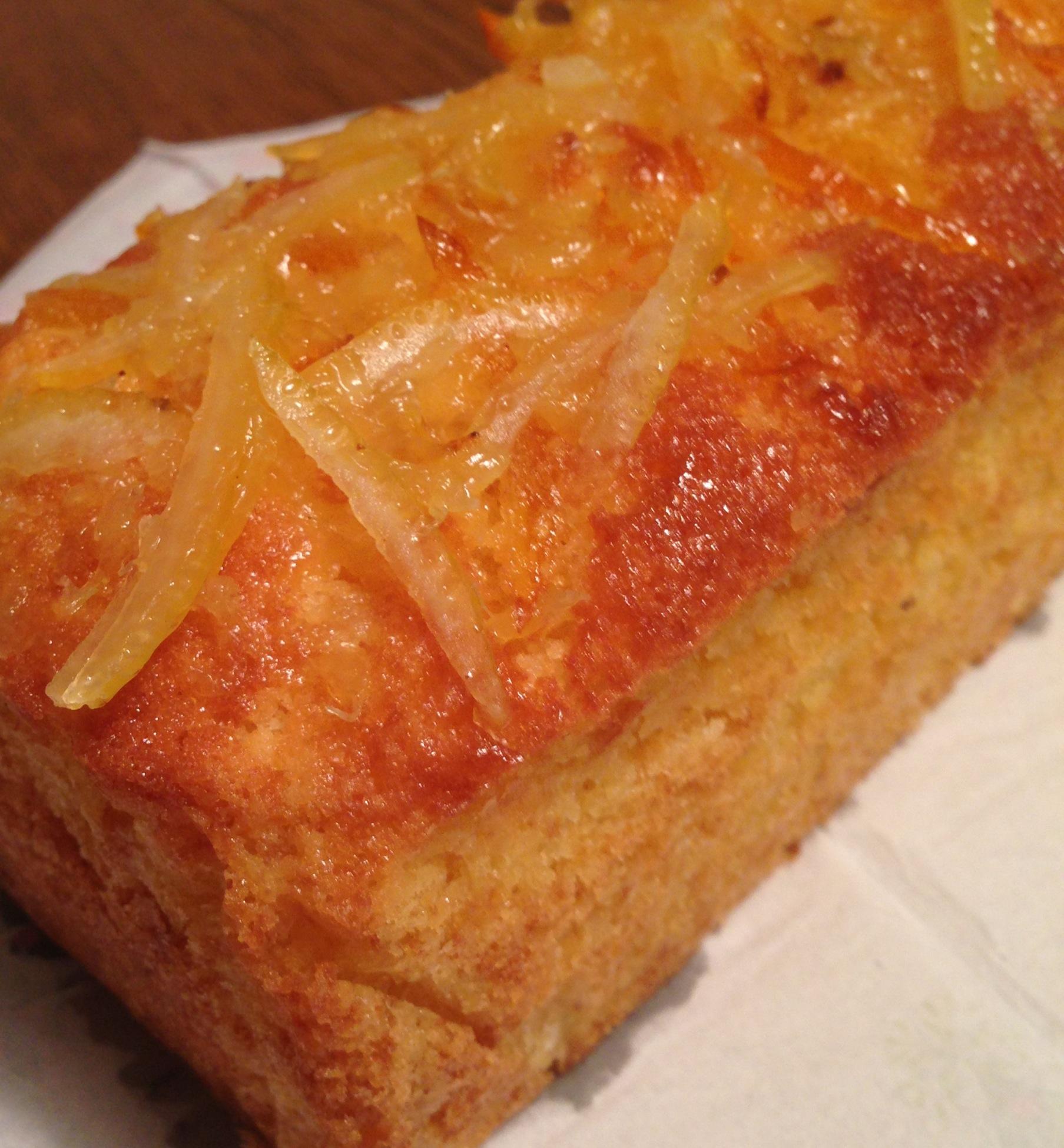 八朔その後…パウンドケーキへ…